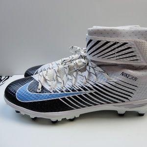 New Nike Lunarbeast football Cleats White Blue 18